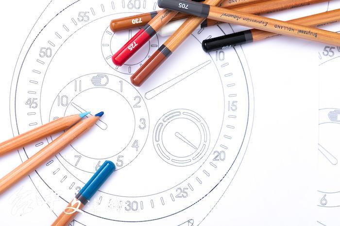比利時獨立錶商 Ressence 攜手蘇富比鐘錶部門舉辦「Time to Draw」腕錶設計比賽。(圖:業者提供)
