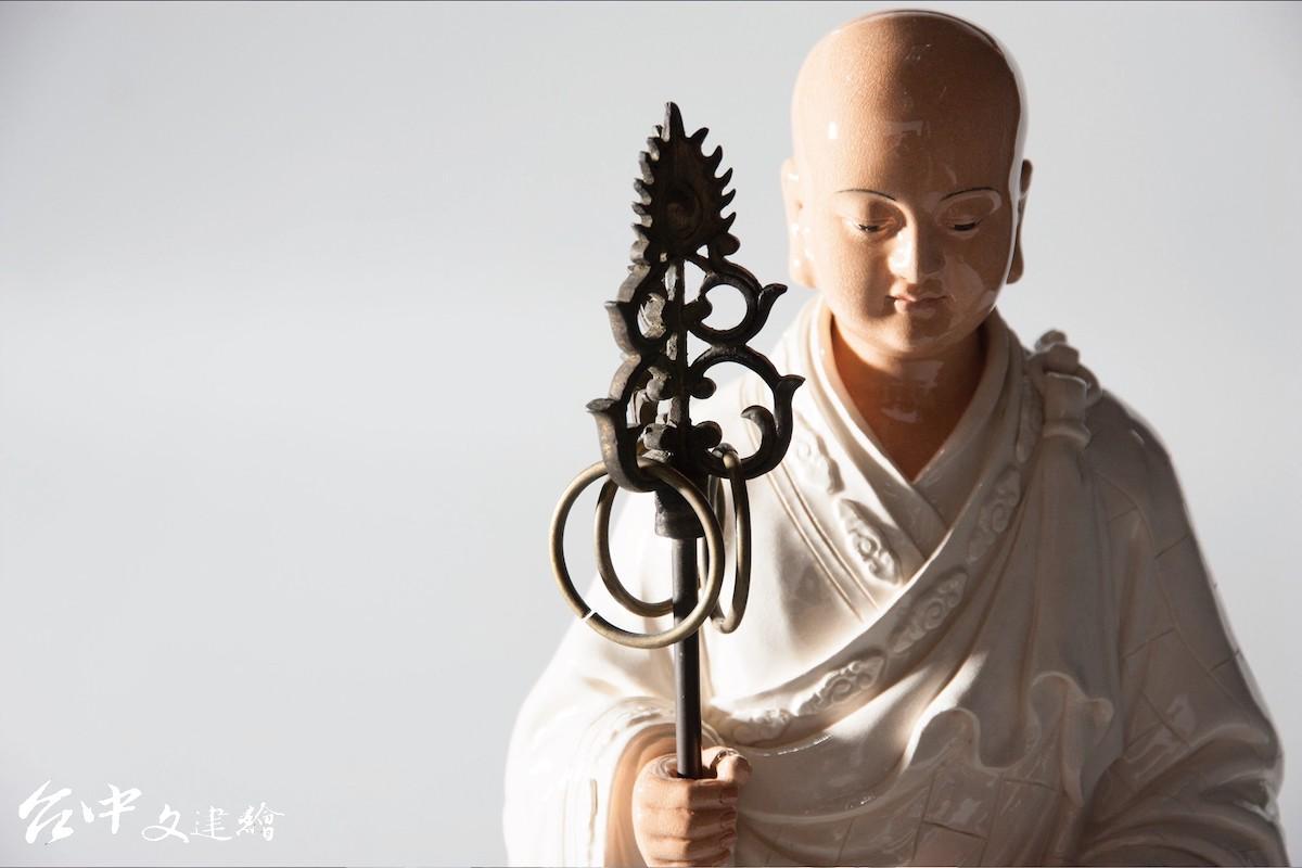 地藏王菩薩(圖:「吳榮交趾陶藝術」粉專))