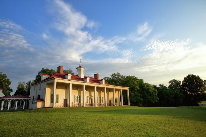 美國國父華盛頓的維農山莊。(圖片授權: George Washington's Mount Vernon)